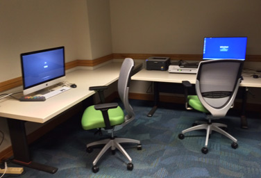 Photo of Butler Assistive Technology Room