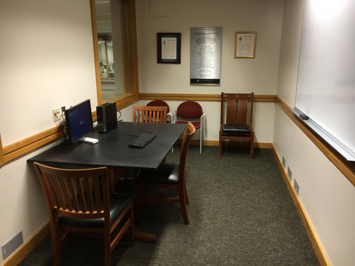 Photo of Class of 1955 Consultation Room