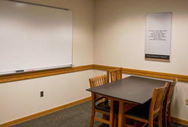 Photo of Class of 1941 Group Study Room