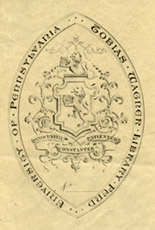 Tobias Wagner Library Fund bookplates