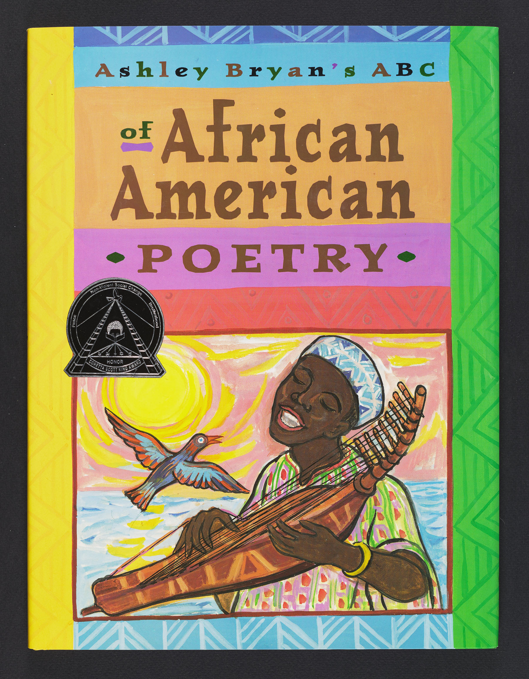 Cover art for Ashley Bryan's ABC of African American Poetry
