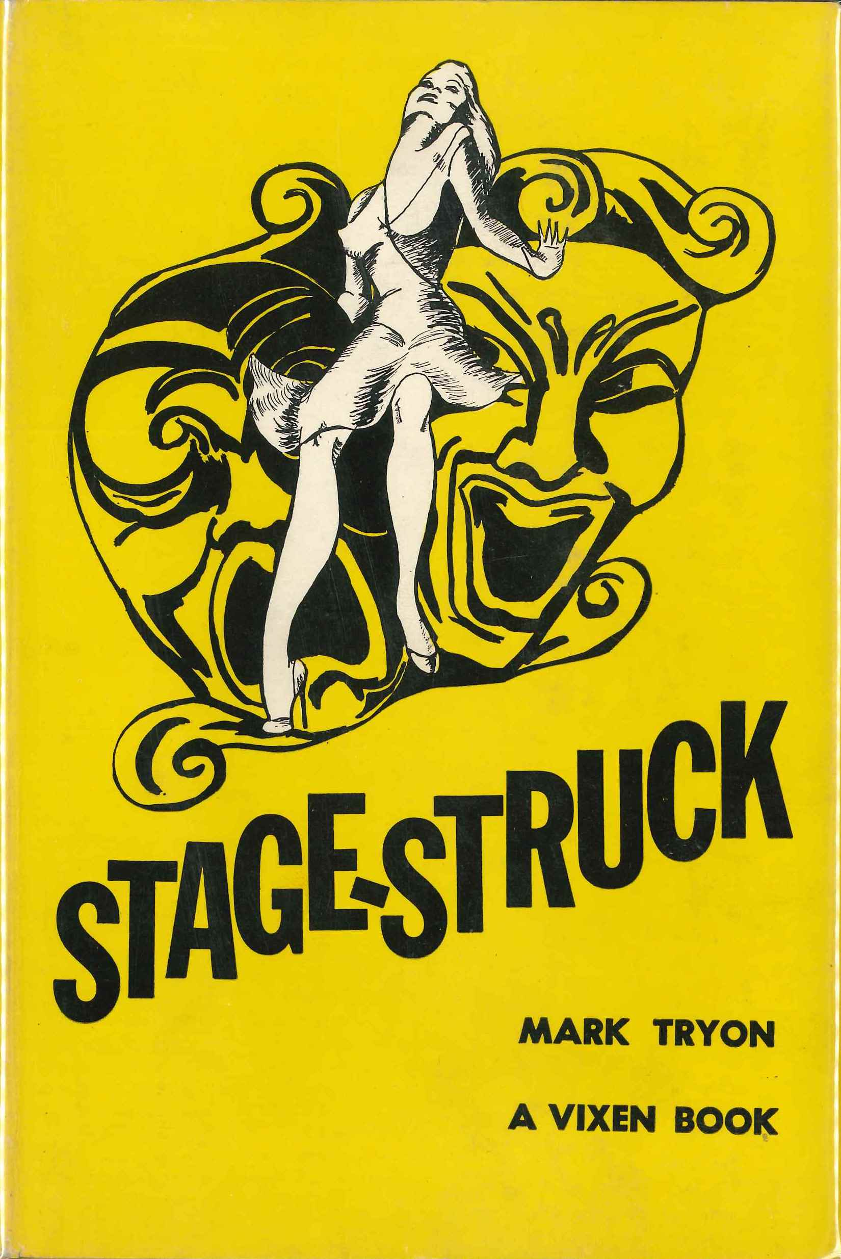 Mark Tryon, Stage-Struck, 1949, dust jacket