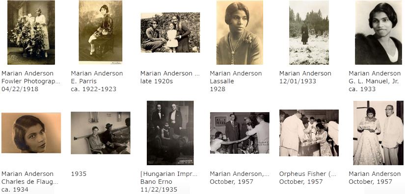 screenshot showing thumbnail images from the JStor Forum site