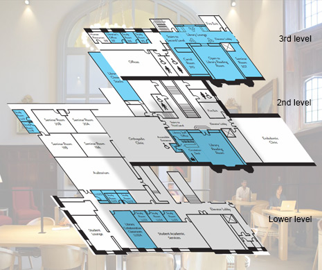 Go to Biomedical Library floor plan