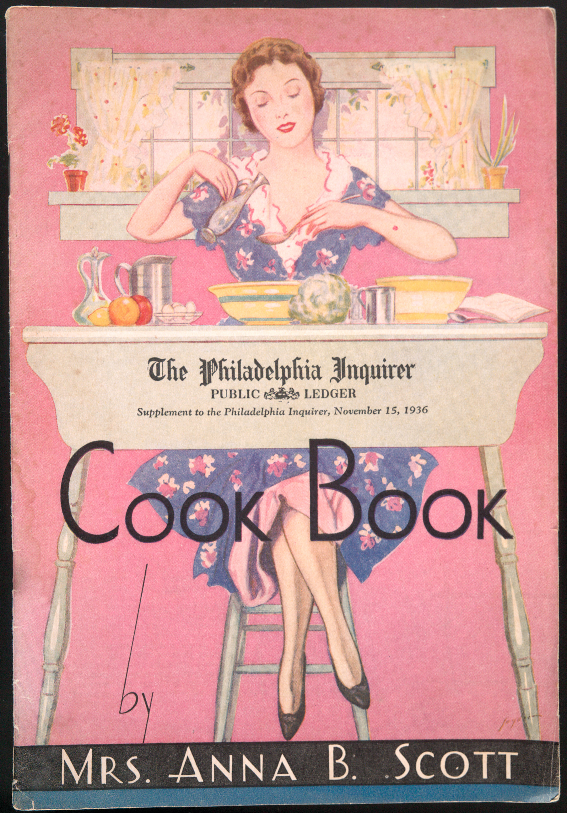 Cook Book. Supplement to the Philadelphia Inquirer,