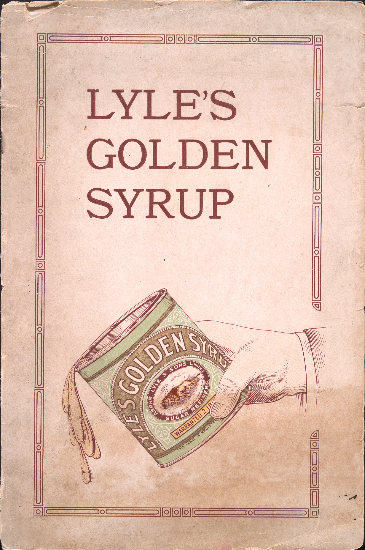 Lyle's Golden Syrup.