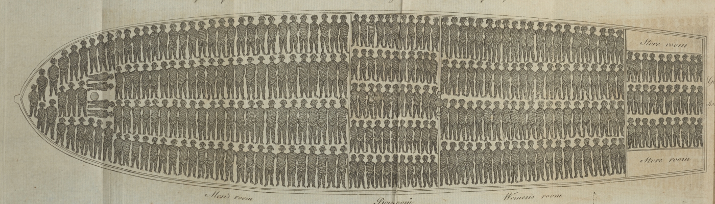 Fold-out engraved image in Charles Crawford, Observations on Negro-Slavery (Philadelphia: Eleazer Oswald, 1790)
