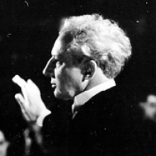 Stokowski conducting the Philadelphia Orchestra, from the Leopold Stokowski Papers