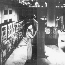 General View of the ENIAC, 1946