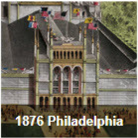1876 Centennial Exhibition, Philadelphia