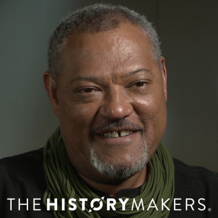 Photograph of actor Laurence Fishburne