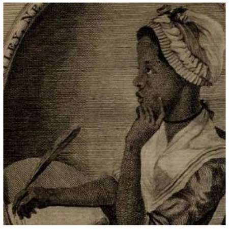 Lithograph of Phillis Wheatley