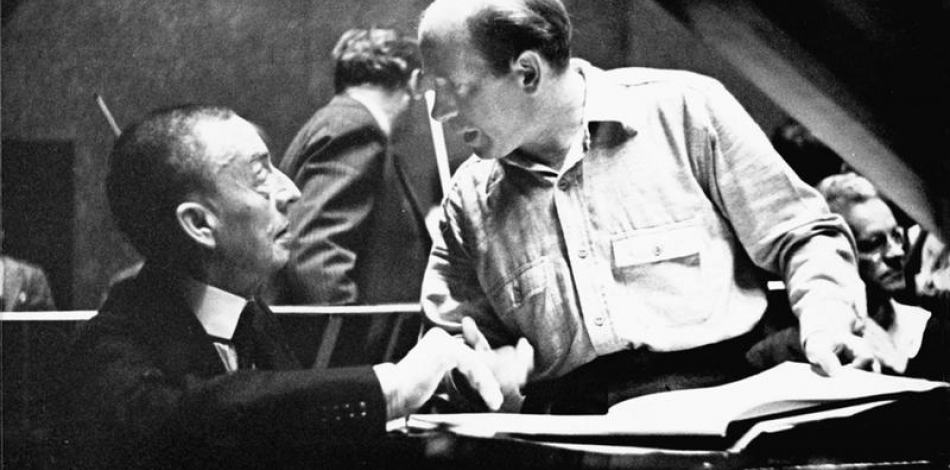 Sergei Rachmaninoff and Eugene Ormandy