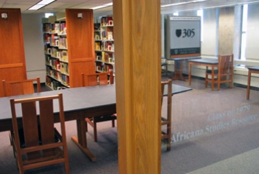 Class of 1979 Africana Studies Resource Room