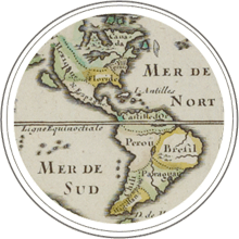 Spanish map of the Americas