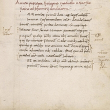 LJS 438, Neoplatonic and neopythagorean translations (Florence, ca. 1475)
