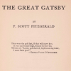 Title of page The Great Gatsby