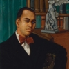 Painted portrait of Countee Cullen Tulane courtesy of University: Amistad Research Center