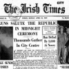 Cover of the Irish Times