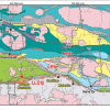 Geological map excerpt