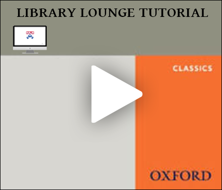 Oxford Bibliographies: Classics